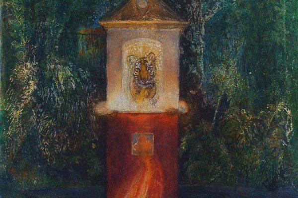 Alina Ide painting Tigertempel